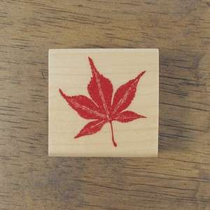 Decorative Stamps Rubber Stamp_Autumn leaves