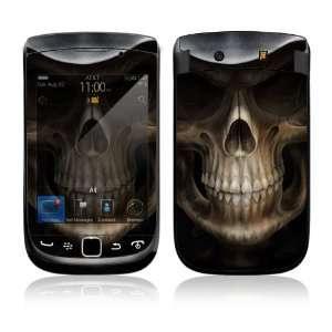 BlackBerry 9800 Torch Skin Decal Sticker   Skull Dark Lord