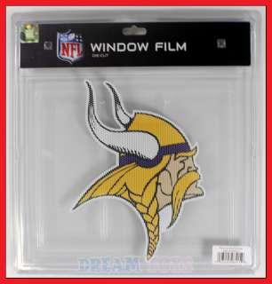 12 NFL Minnesota Vikings Window Film /Decal Sticker