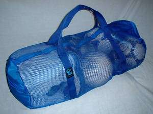 Mesh Sports/Travel Duffle Bag Size LARGE