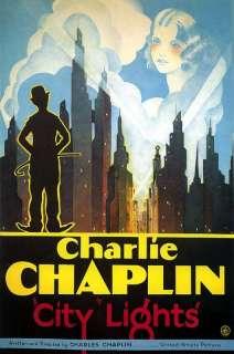 City Lights   Charlie Chaplin 1931 Movie Poster 6.5x10