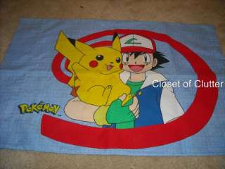 Boys & Girls Cartoon Character Pillow Cases (Vintage Fabric) Each Sold