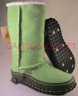 NEW Womens Nike Valenka Wool Boots Green 10