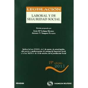 Legislación Laboral y de Seguridad Social (9788499039213