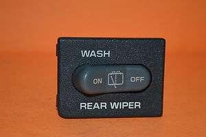 1996 1997 JIMMY BLAZER REAR WIPER WASH ON OFF 15989589 SWITCH