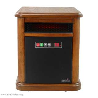 NEW Duraflame 1500W Portable Infrared Quartz Space Heater Best