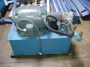 Sperry Vickers 10 HP Hydraulic Pump