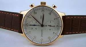 IWC Portuguese Automatic Chronograph 18kt Solid Rose Gold IW3714 80