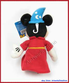 10 Disney Magician Mickey Mouse Figure Plush Stuffed Toy Doll Beanz