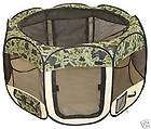 Zebra Pet Tent Exercise Pen Playpen Dog Cat Soft Crate items in Pets