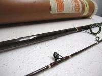 FENWICK 9 foot Muskey Salmon Fishing Pole Bait cast Rod 2 Piece W