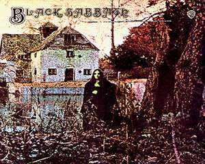 BLACK SABBATH   First Album