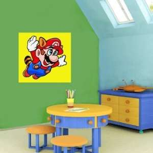 Super Mario Cartoon Wall Decor sticker 22X22 Everything
