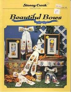 Stoney Creek Beautiful Bows holiday cross stitch book copyright