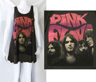 PINK FLOYD English band 70s WOMEN T SHIRT DRESS TOP M L