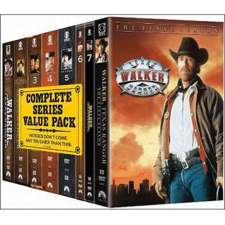 Walker, Texas Ranger The Complete Series (Full Frame