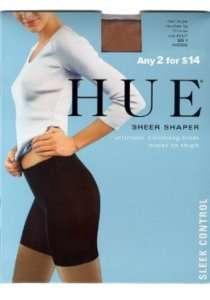 HUE 6477 Sheer Shaper Pantyhose Hosiery