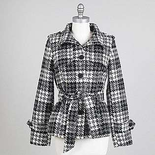 Womens Belted Coat  Outer Edge Clothing Womens Outerwear