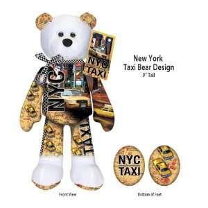 New York City Taxi Cab Bear