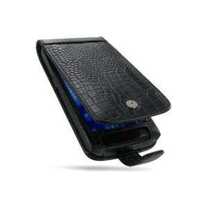 for Dell Streak 5 (Black/Crocodile Pattern)   Flip Type Electronics