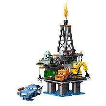LEGO Disney Pixar Cars 2 Oil Rig Escape (9486)   LEGO