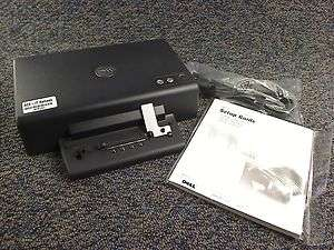 DELL D/DOCK LAPTOP DOCKING STATION PD01X CD & PCI SLOT PORT REPLICATOR