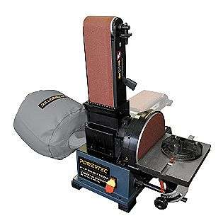 Belt/Disc Sander  Powertec Tools Bench & Stationary Power