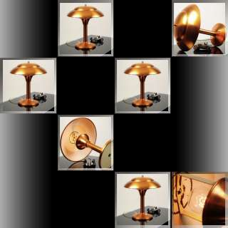 Stunning 1930s French ART DECO Machine Age TABLE LAMP Desk Light