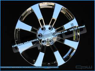 TAHOE YUKON 22 CHROME FACTORY STYLE RIMS WHEELS NEW IN BOX