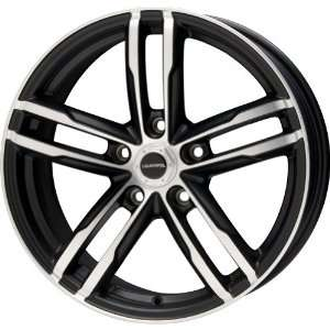 Liquid Metal Curve Series Black Wheel with Machined Face (18x8/5x114