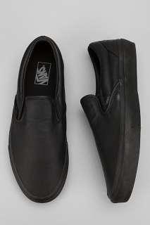 UrbanOutfitters > Vans Italian Leather Classic Slip On Sneaker
