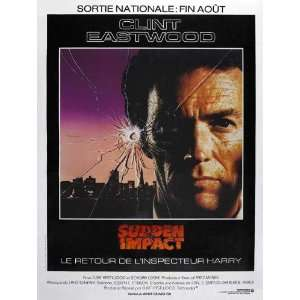Sudden Impact Movie Poster (11 x 17 Inches   28cm x 44cm) (1983