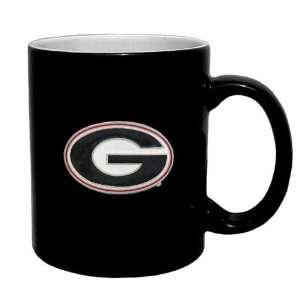 Georgia Bulldogs NCAA 2 Tone Coffee Mug Sports & Outdoors
