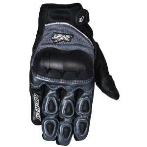 Joe Rocket Kawasaki ZX Gloves   Small/Gunmetal/Black