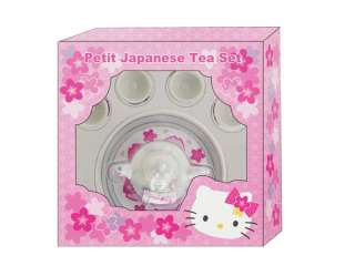 SANRIO HELLO KITTY MINI SMALL SAKURA PETIT JAPANESE TEA SET TOY