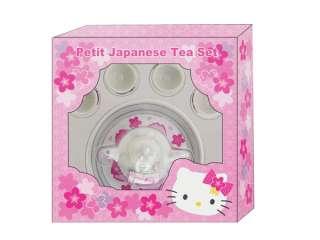 SANRIO HELLO KITTY MINI SMALL SAKURA PETIT JAPANESE TEA SET TOY