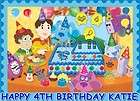 BLUES CLUES FROSTING SHEET EDIBLE CAKE TOPPER DECORATION IMAGE