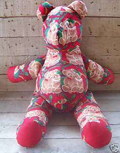 25 Handmade Teddy Bear Christmas Teddy Bear Material