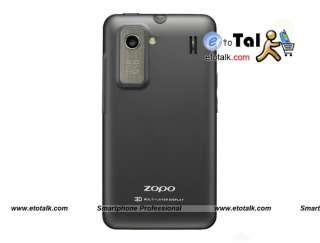 ZOPO ZP200 3G WCDMA CPU6575 1GHz Dual Sim Multi Layer Display Android