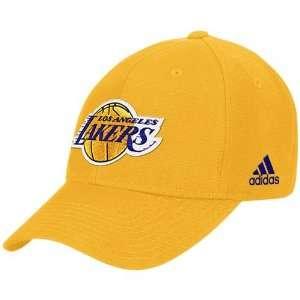 LA Los Angeles Lakers NBA Basketball Adidas Gold Basic Embroidered