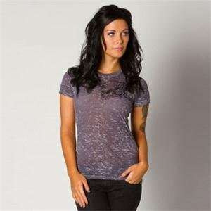 Metal Mulisha Womens Eulogy T Shirt   X Small/Charcoal