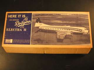 1963 Dodgers Electra II Revell Model Kit #255 D