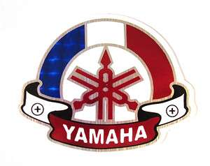 Yamaha Logo Racing Rare Motorcycle Car Window Helmet Foil Decal