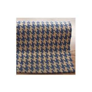 Hand Tufted Jute Striped Area Rug Carpet 5 x 8 Blue
