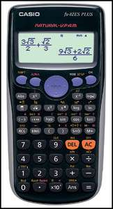 NEW Casio Scientific Calculator FX 82ES Plus Brand New 4971850166986