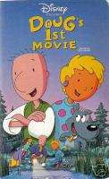 DOUGS 1st MOVIE   WALT DISNEY HOME VIDEO   VHS