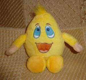 Talking Webkinz Wacky Zingoz Yellow Stuffed No Code Plush Stuffed Toy