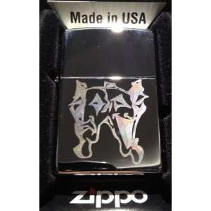 Zippo Custom Lighter   Clown Theatre Happy SAD Face Mask