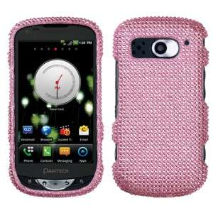 Diamond BLING Hard Case Phone Cover for Verizon Pantech Breakout