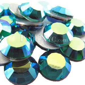 SS20 Emerald AB Swarovski Crystal Flatback Rhinestones